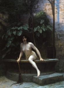 La Vérité sortant du puits, par Jean-Léon Gérôme, 1896 (copyright : Musée Anne-de-Beaujeu)