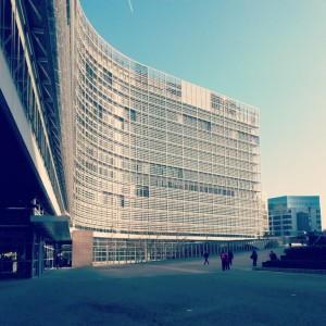 Un terrain déjà arpenté par Jérôme, où le régime régulatoire est accommodé à la sauce néo-libérale. Le Berlaymont, Commission européenne à Bruxelles (copyright : A. S.-M. 2014)