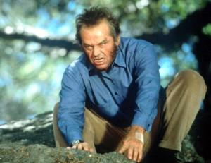 Le lecteur foucaldien, toujours sur le qui-vive. Jack Nicholson dans Wolf (source : telerama.fr)