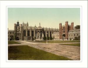 Trinity College, à Cambridge University (crédits : Wikimedia Commons)