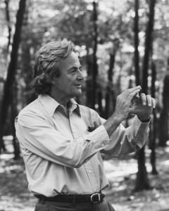Richard Feynman, en 1984 (crédits : TamikoThiel, via Wikimedia Commons)