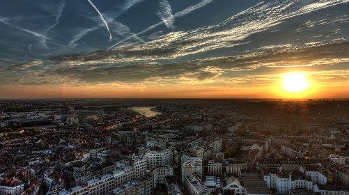 Rien de nouveau sous le soleil, qui va se coucher du coup (crédits : .vision-region.fr/pays-de-la-loire/nantes)