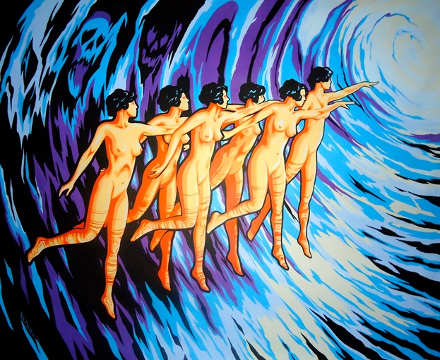 « Dancing Into A Black Hole », par Rich Rethorn, 2011 (source : http://richrethorn.com/)