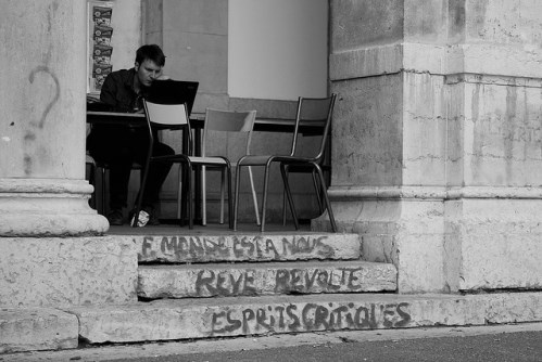 Université Lyon 2, septembre 2009 (crédits : mafate69, via Flickr)