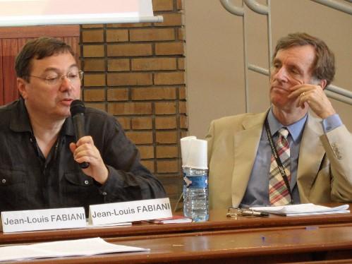Jean-Louis Fabiani et Andrew Abbott, congrès de l'Association française de sociologie, 2011 (crédits : pierremerckle.fr/)
