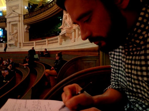 Finale internationale : Sorbonne, grand-amphi, jeudi 1er octobre 2015 (crédits : Fabrice Pizzinat)