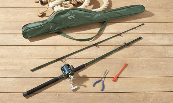 Matériel (source : pêche miraculeuse sur Google Images)