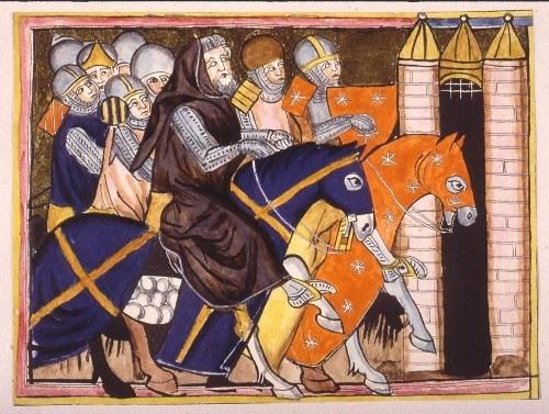 Chevaliers du Moyen Âge, s.n (S.l) (crédits : BnF, via Gallica.fr)