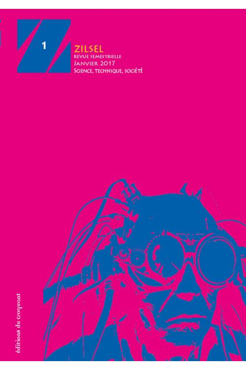Couverture du numéro 1, conçue par Alain Oriot, du Croquant